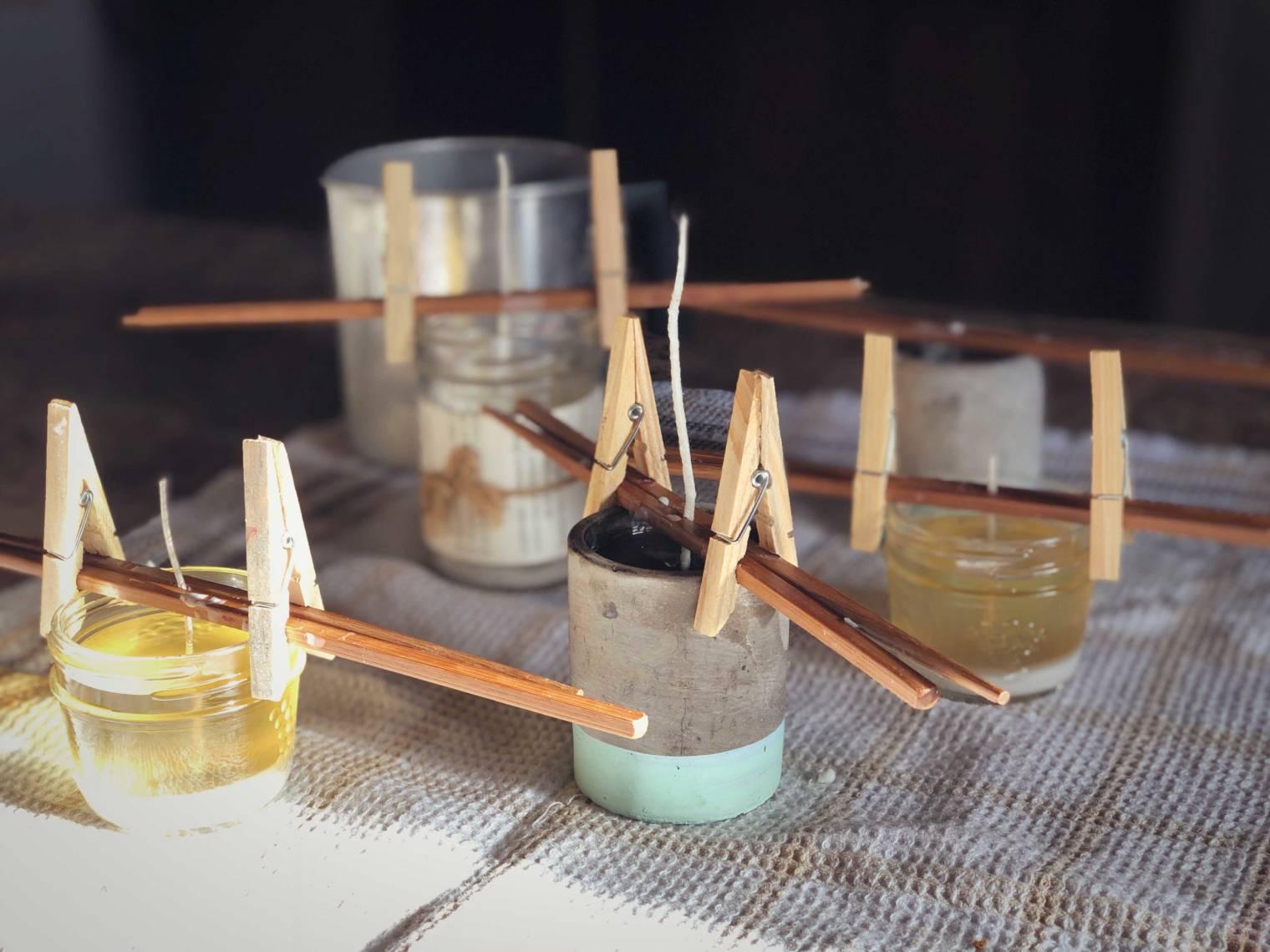 Comment fabriquer ses bougies à base de cire de soya et parfumées aux huiles essentielles