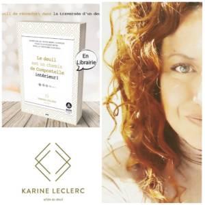 Karine Leclerc deuil